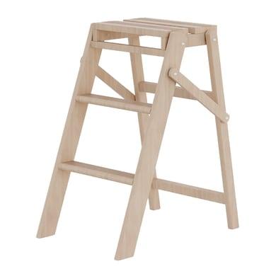 Sgabello in legno COLOMBO Woody 3 gradini