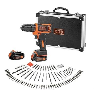 Trapano avvitatore a batteria BLACK+DECKER 10,8 V, 1.5 Ah, 2 batterie