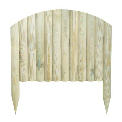 Bordo in legno L 55 x H 40 cm Sp 2.8 cm