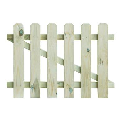 Cancelletto in legno L 1 x H 0.7 m