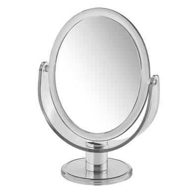 Specchio ingranditore ovale L 17.5 x H 25 cm Gedy