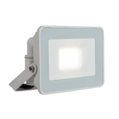 Proiettore LED integrato Yonkers in alluminio, bianco, 20W 1800LM IP65 INSPIRE