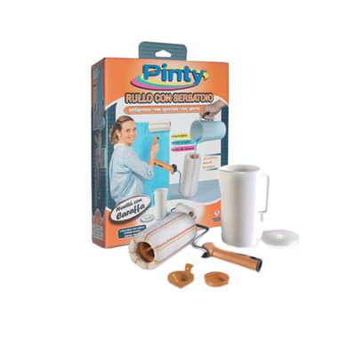 Rullo con serbatoio per parete e soffitto PINTY 200 mm