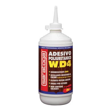 Colla per legno per tutti i tipi di legno WD4 adesivo poliuretanico 500 g SARATOGA 500 g