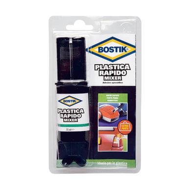 Colla per riparazioni acrilico per plastica BOSTIK Rapidmix 25 ml