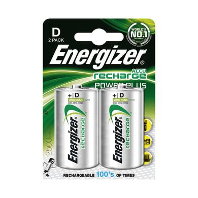 Pila LR20 D ENERGIZER Recharge 2 batterie