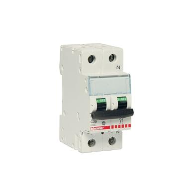 Interruttore magnetotermico BTICINO FC810NC25 1P +N 25A 4.5kA C 2 moduli 230V