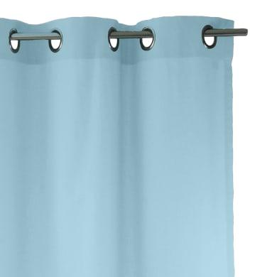 Tenda INSPIRE Sunny blu fjord occhielli 140 x 280 cm