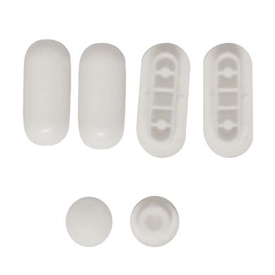 Paracolpi 0.8 x 2 x 4.5 bianco