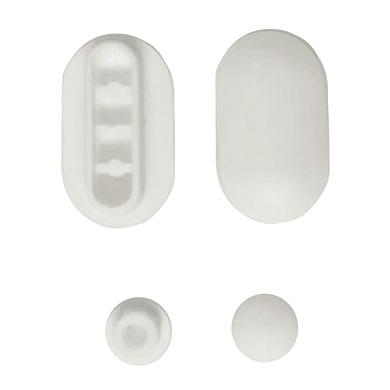 Paracolpi 0.65 x 2.5 x 4.5 bianco