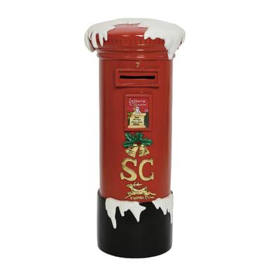 Cassetta postale rosso Cassetta della Posta  L 43 x P 42 x H 10 cm