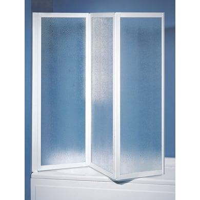 Parete vasca Cayman in acrilico piumato H 135 cm