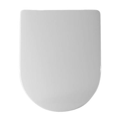 Copriwater rettangolare Rettangolare Dedicato per serie sanitari compatibile Esedra termoindurente bianco