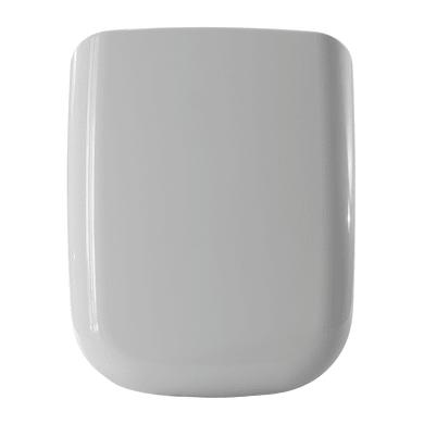 Copriwater rettangolare Rettangolare Dedicato per serie sanitari Compatibile Conca termoindurente bianco