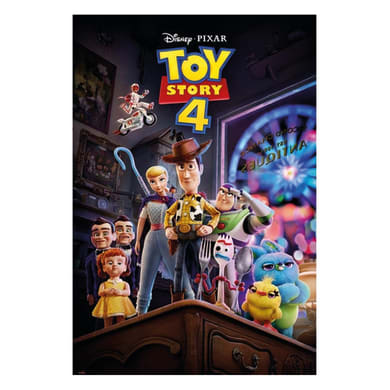 Poster Poster 61x91,5 cm Disney Toy Story 4 61x91.5 cm