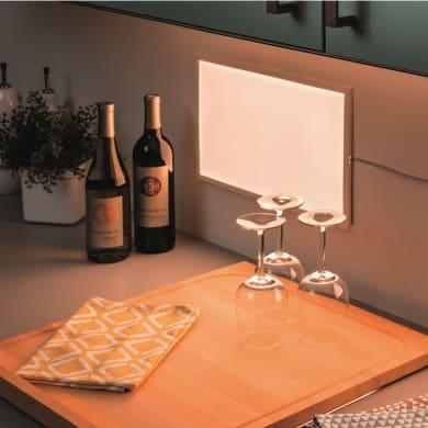Pannello led Glow 25x40 cm bianco naturale, 720LM