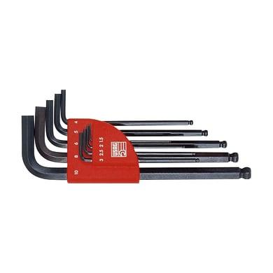 Set di chiave a brugola USAG 9 pezzi