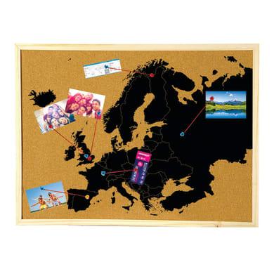 Bacheca Europa beige 90x60 cm