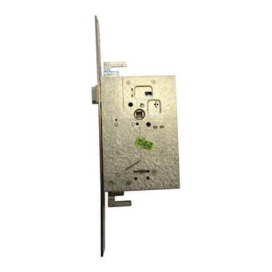 Serratura a incasso doppia mappa per porta d'accesso, entrata 6 cm, interasse 85 mm