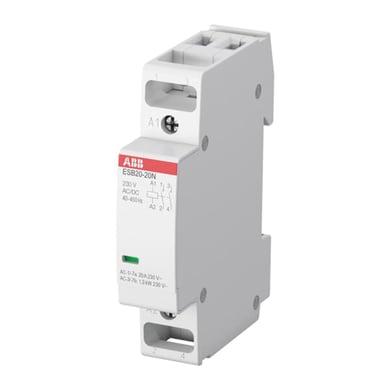 Contattore ABB ESB20-11N-06 20A 1 modulo 230V