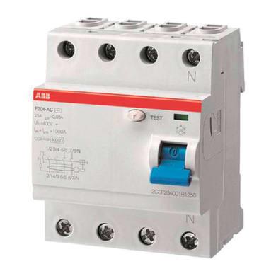 Interruttore differenziale puro ABB F204 A-40 / 0,3 4 poli 40A 300mA A 4 moduli 400V