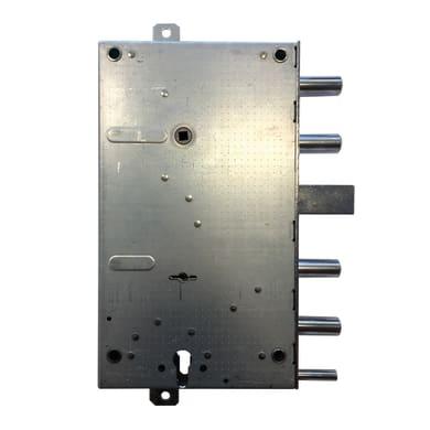 Serratura a incasso doppia mappa per porta d'accesso, entrata 10.5 cm, interasse 152 mm