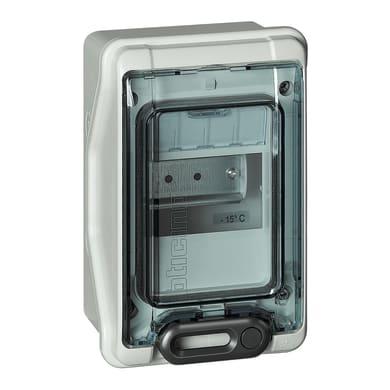 Quadro elettrico vuoto a parete 4 moduli IP65 BTICINO grigio