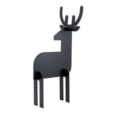 Lavagna 3D Renna nero 15x25 cm