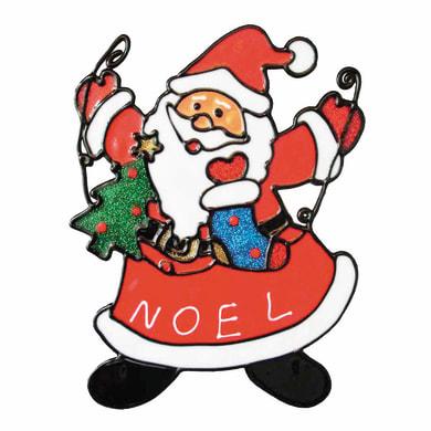 Sticker Babbo Natale 18x23 cm