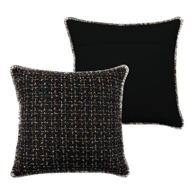 Cuscino Walter nero 40x40 cm