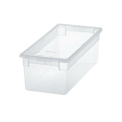 Contenitore Light Box L 17.8 x H 13.2 x P 39.6 cm trasparente