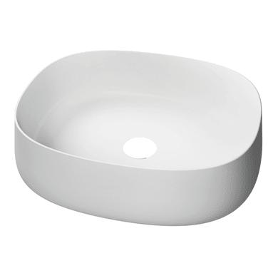 Lavabo da appoggio  in ceramica bianco
