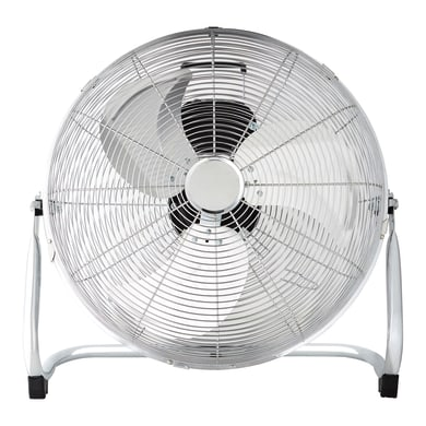 Ventilatore da pavimento EQUATION Jervis3 cromo 120 W Ø 45 cm