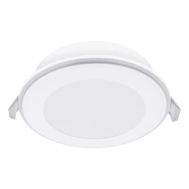 Faretto fisso da incasso tondo Ufo in plastica, bianco, diam. 14.5 cm 3.9x14.5cm LED integrato 0W 1150LM IP20 INSPIRE
