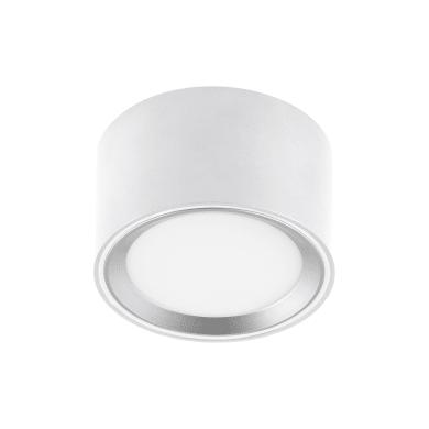 Faretto fisso da incasso tondo Oberon in alluminio, bianco, diam. 10 cm 6x10cm LED integrato 0W 850LM IP20 INSPIRE