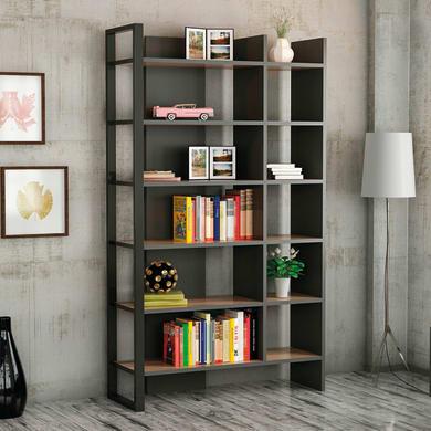 Libreria Leno 6 ripiani L 94 x P 34 x H 160 cm
