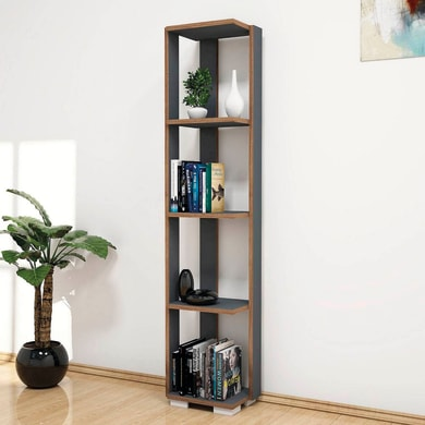 Libreria Nicol 4 ripiani L 33.6 x P 25.8 x H 153 cm