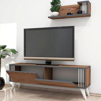 Mobile per TV Nicol L 120 x H 42 x P 31 cm