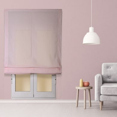 Tendina pieghevole in tessuto INSPIRE Aire rosa 135x250 cm