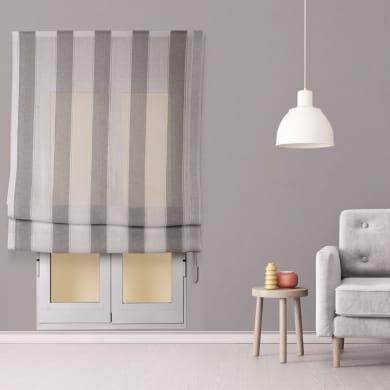 Tenda a pacchetto INSPIRE Riga Larga grigio / bianco 75x250 cm