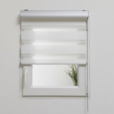 Tenda a rullo Box night/day bianco 60x250 cm
