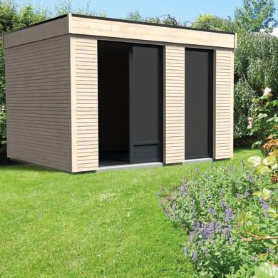Casetta da giardino in legno Decor Home 9,  superficie interna 8.71 m² e spessore parete 19 mm