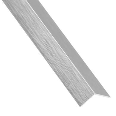 Profilo angolare simmetrico in alluminio 2.6 m x 19.5 cm grigio