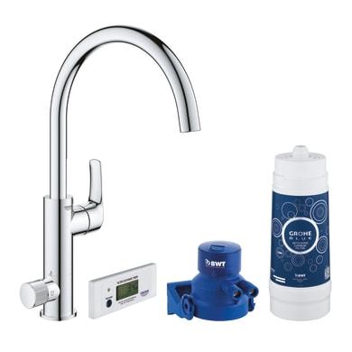 Sistema filtrazione acqua GROHE Blue Pure Eurosmart in carboni attivi