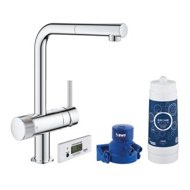 Sistema filtrazione acqua GROHE Blue Pure Minta in carboni attivi