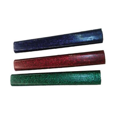 Stick di colla a caldo RAPID colori assortiti glitter Ø 9 mm 125 g