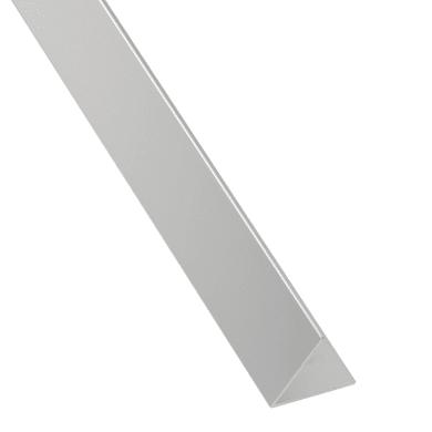Profilo angolo STANDERS in alluminio 2.6 m x 1.95 cm grigio