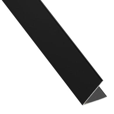 Profilo angolo STANDERS in alluminio 2.6 m x 1.95 cm nero