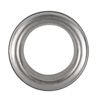 Sottolavorazione anello color acciaio satinato