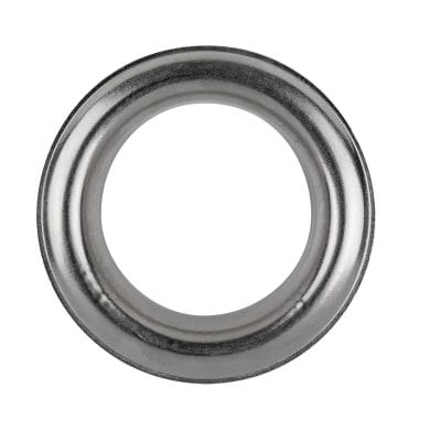 Sottolavorazione anello color acciaio cromato
